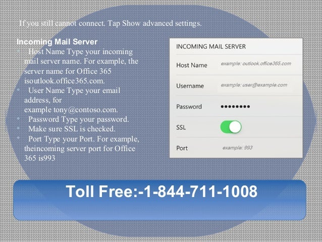 How to configure hotmail smtp settings for iphone