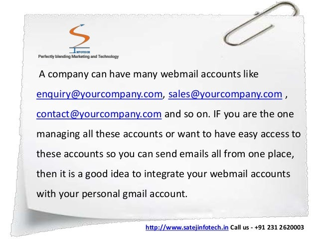 how to open company email in gmail