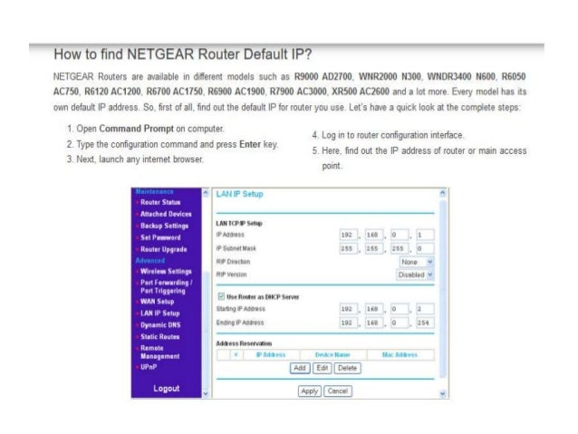 How to configure your Netgear Router Setup