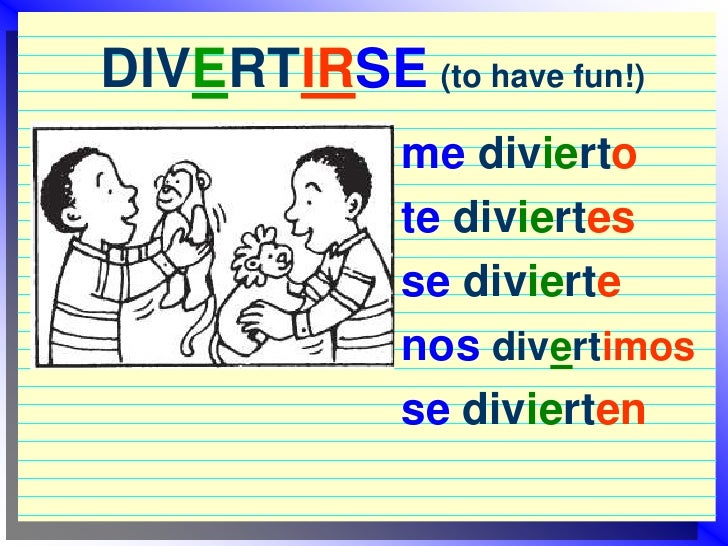 How to conjugate reflexive verbs