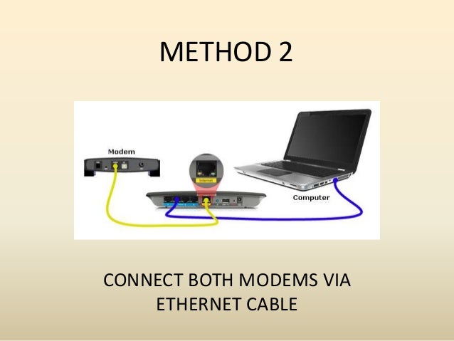 how to connect two routers wirelessly to extend range