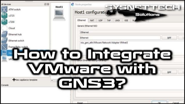 How to Connect VMware to GNS3 | GNS3 Labs