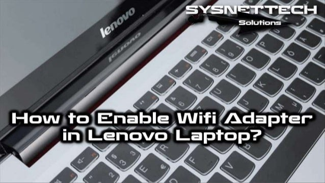 How to Connect Wifi in Lenovo Laptop