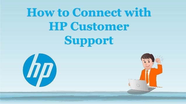 How to Connect with HP Customer Support