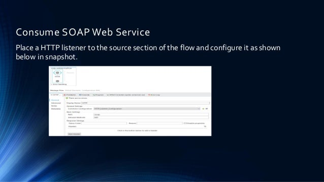 How To Consume SOAP Based Web Service With Mulesoft Anypoint Studio