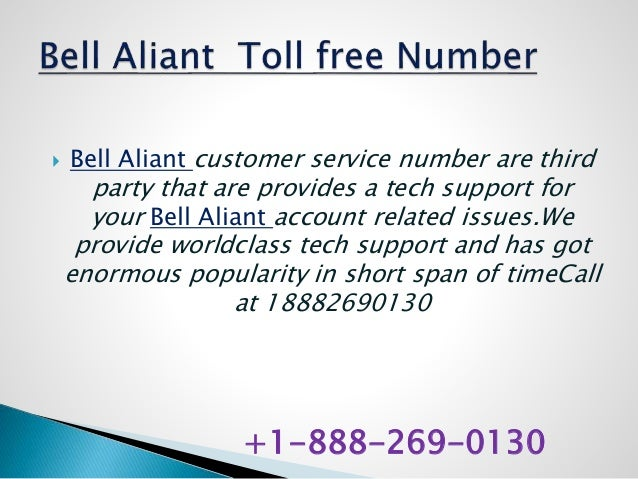 How to contact bell aliant