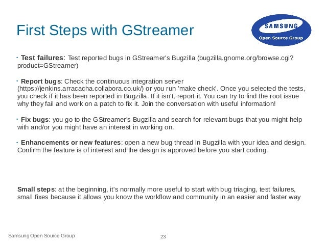 How to Contribute to GStreamer