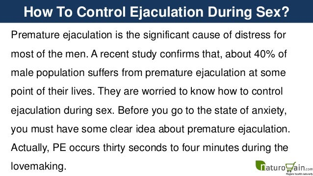 How To Control Ejaculation During Sex 44