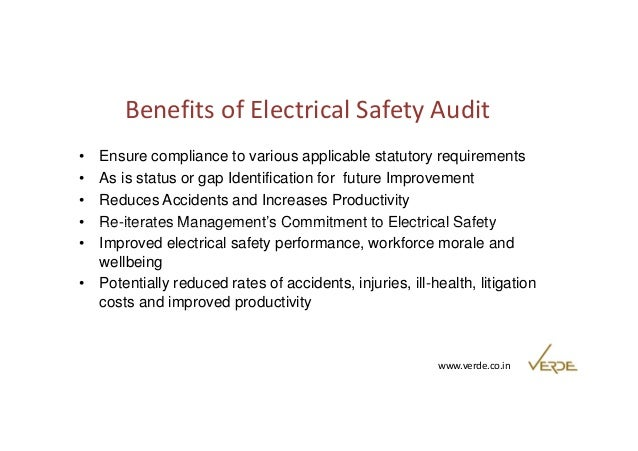 How to control electrical safety risk