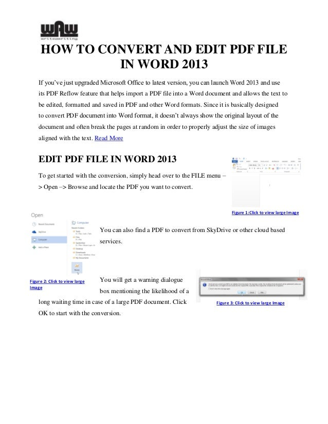 How to Convert Word to an Editable PDF Form