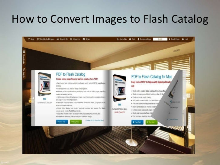 How to Convert Images to Flash Catalog