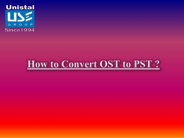 OST files are the OFF-LINE STORAGE TABLE stored at the back end in MS Exchange Server and these stored files will be extra...