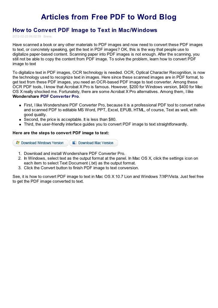 convert pdf to excel mac os x free