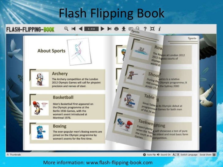 Flash Flipping BookMore information: www.flash-flipping-book.com
