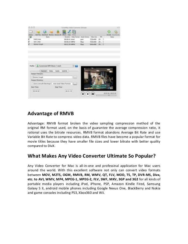 RMVB to 3GP Converter – How to Convert RMVB to 3GP on Mac