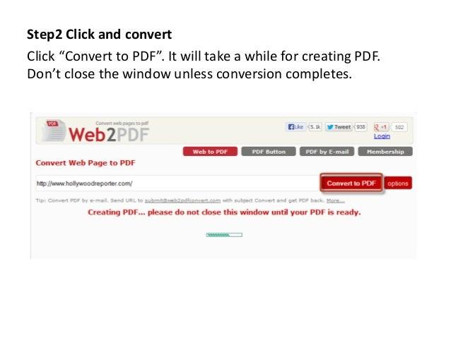 webpage to pdf converter download