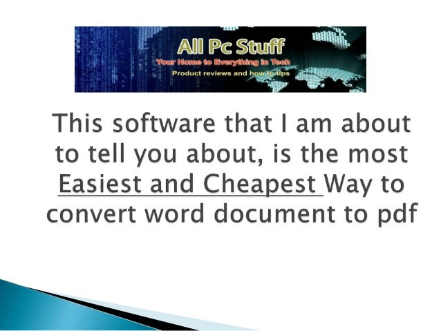 thow to convert pdf to word