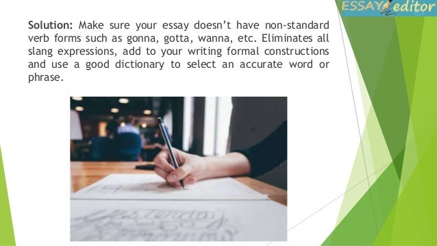 how to correct mistakes in your essay 14