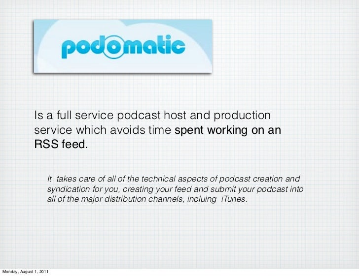 how to create a postcast