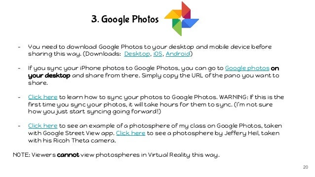 How to create 360 images with google street view app