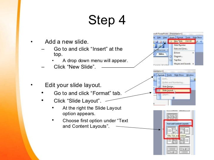 how to create powerpoint presentation step by step