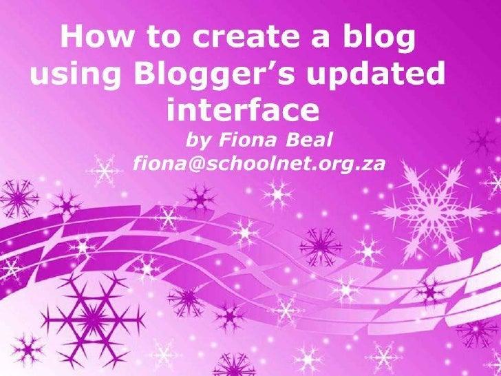 Ask Google for Blogger.com