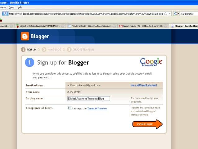 How to Create a Blog on Blogspot.com