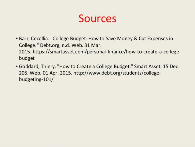 how to create a college student budget in just 4 steps