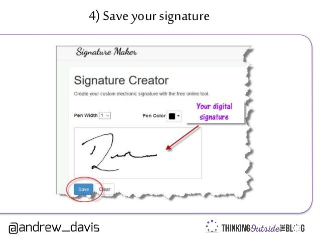 how to create online signature