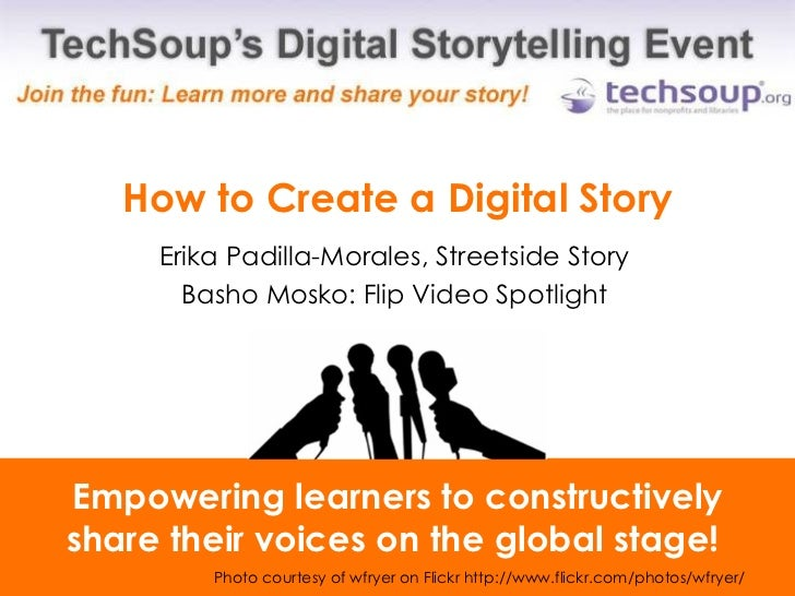 How to Create Simple Digital Stories