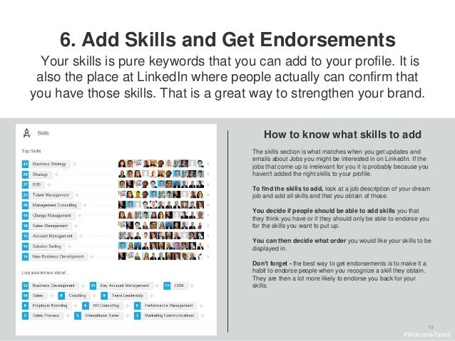 how to create a profile in linkedin