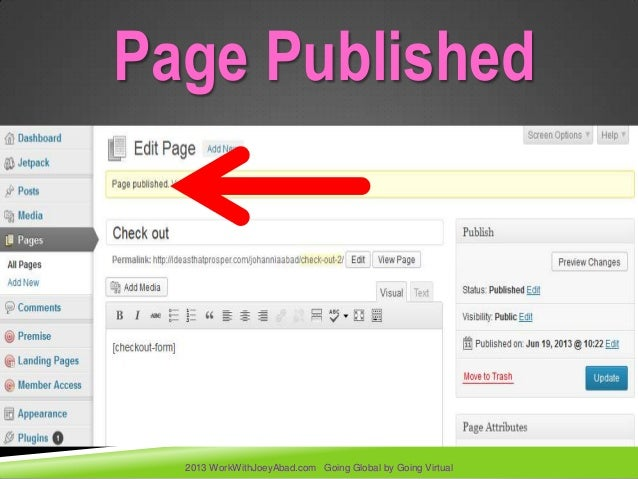 how to create a site using wordpress