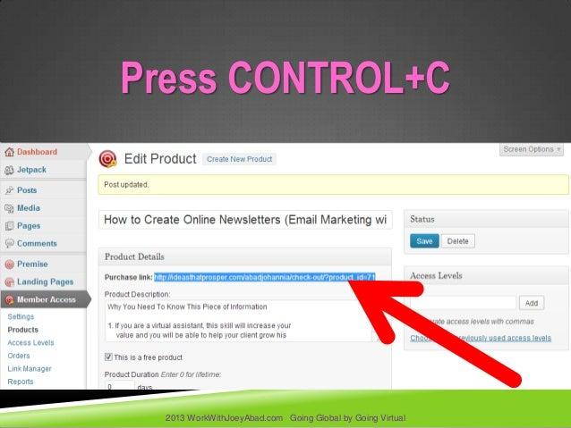 How to create a membership site using premise 2 on wordpress slideshare - 웹