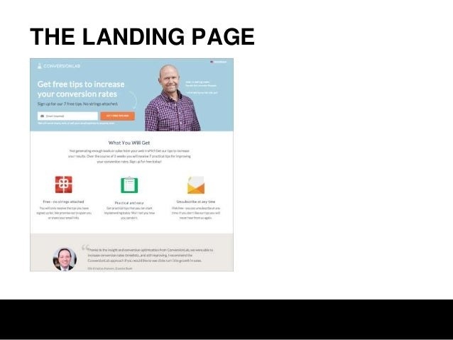 THE CLICK SOURCE The Smart Marketer's Landing Page Conversion Course