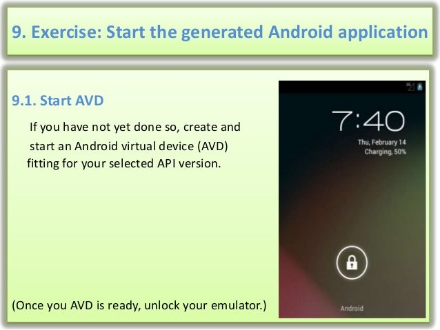 how to create table in android