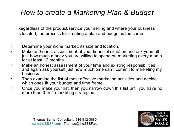 How to create an effective marketing plan for How do you make a blueprint