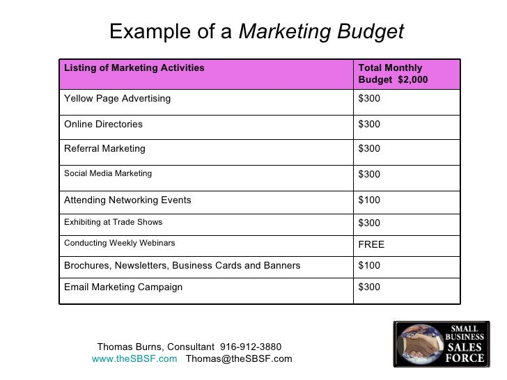 Sample Marketing Budget. Internet Marketing Plan Sample Template