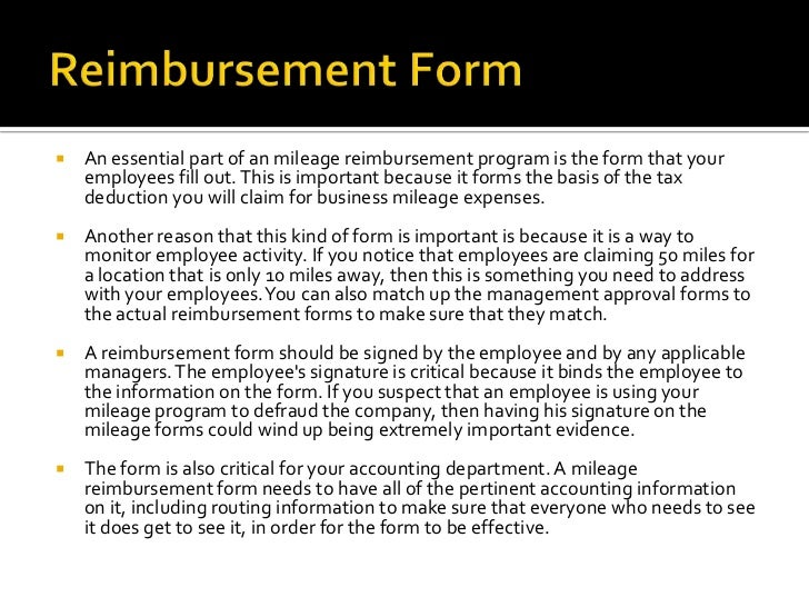 How To Create An Effective Mileage Reimbursement Program