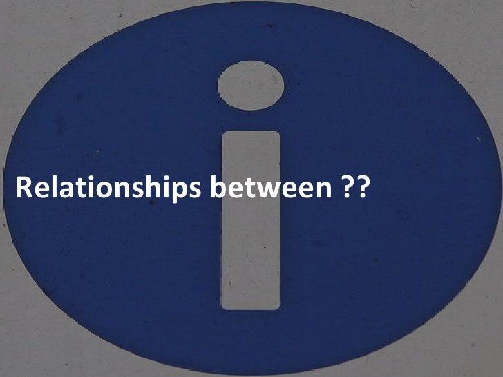 Relationships between ??