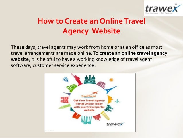 How to create an online travel agency