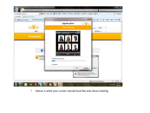 How to create an oovoo account