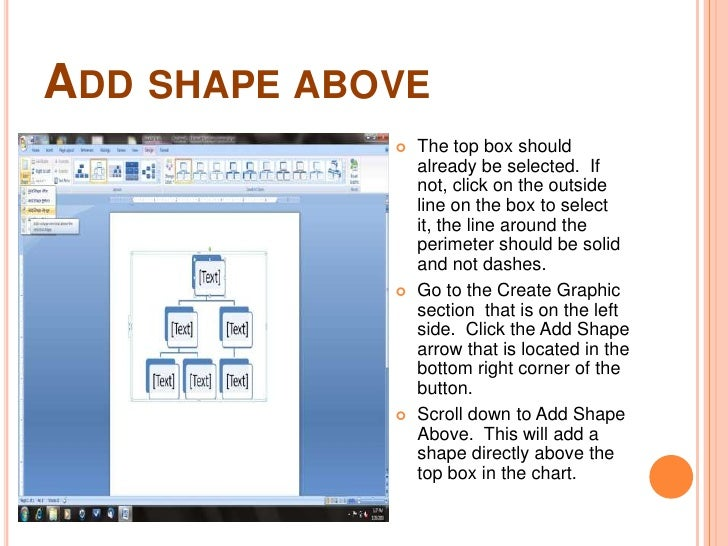 How To Create An Organizational Chart In Word