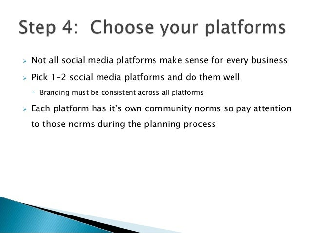 how to create a social media plan
