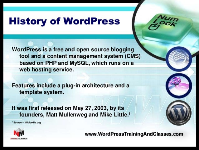 How to Create a Website with WordPress Themes and Software Slide 2