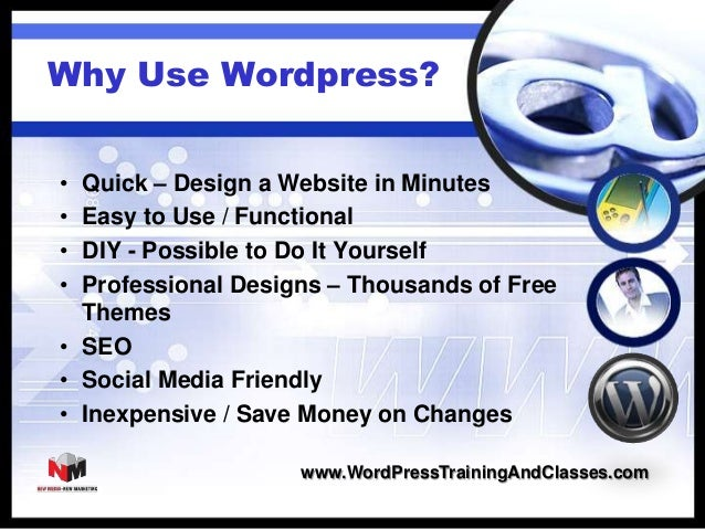 How to Create a Website with WordPress Themes and Software Slide 3