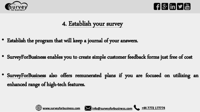 how to create a successful online survey