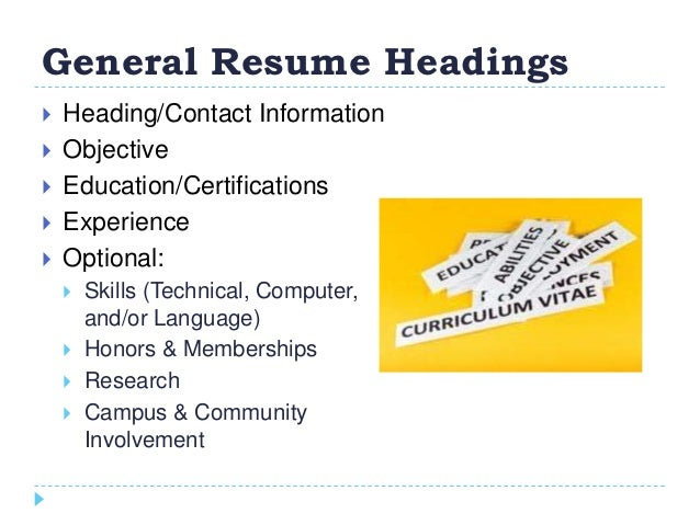 how to create a winning resumes