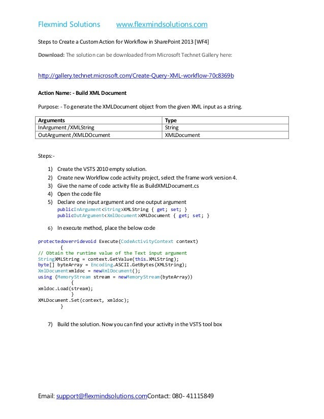 Flexmind Solutions www.flexmindsolutions.com Email: support@flexmindsolutions.comContact: 080- 41115849 Steps to Create a ...