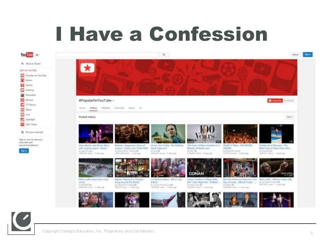 How to Create Differentiated Video Content Using YouTube & Hangout on Air Slide 3