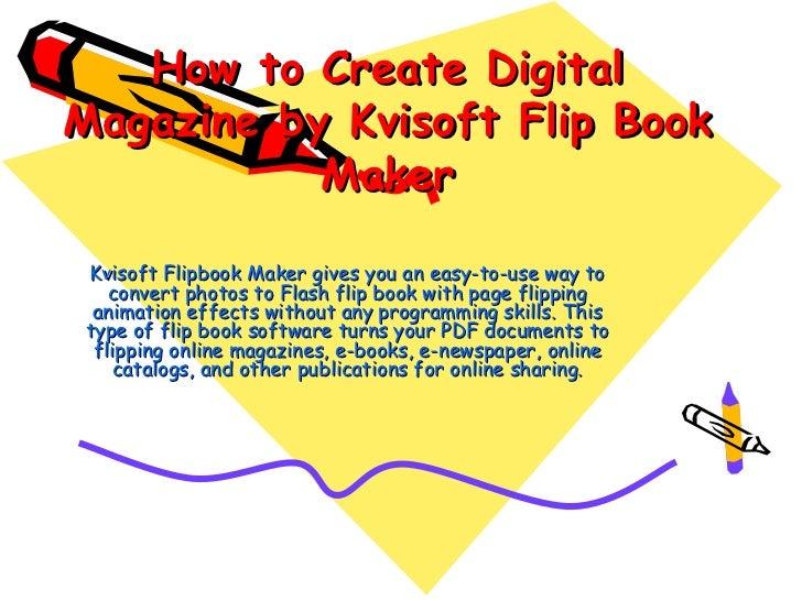 create a flip book pdf